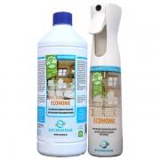 EcoHome - bomboletta da 300 ml + ricarica da 1 litro